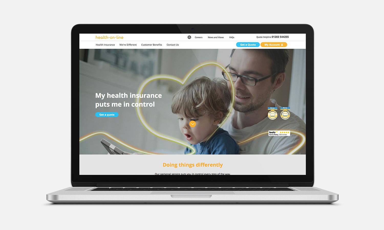 Health-on-line macbook view
