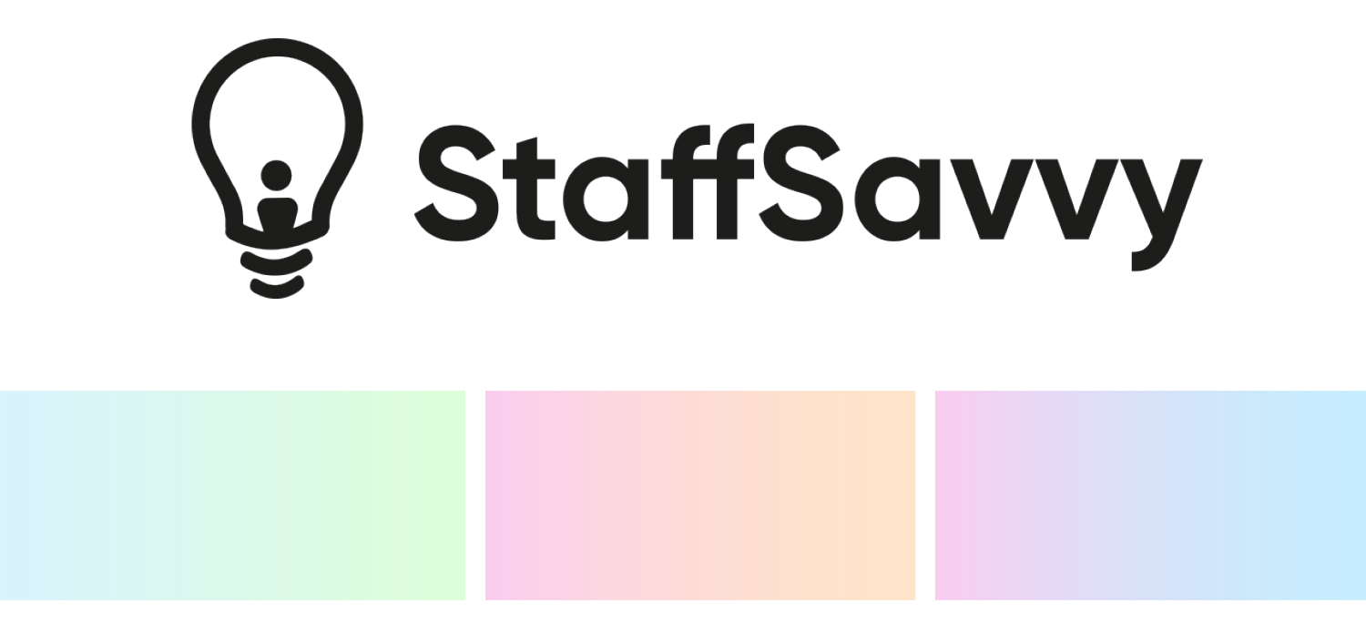 Staff Savvy Logo and Colourings