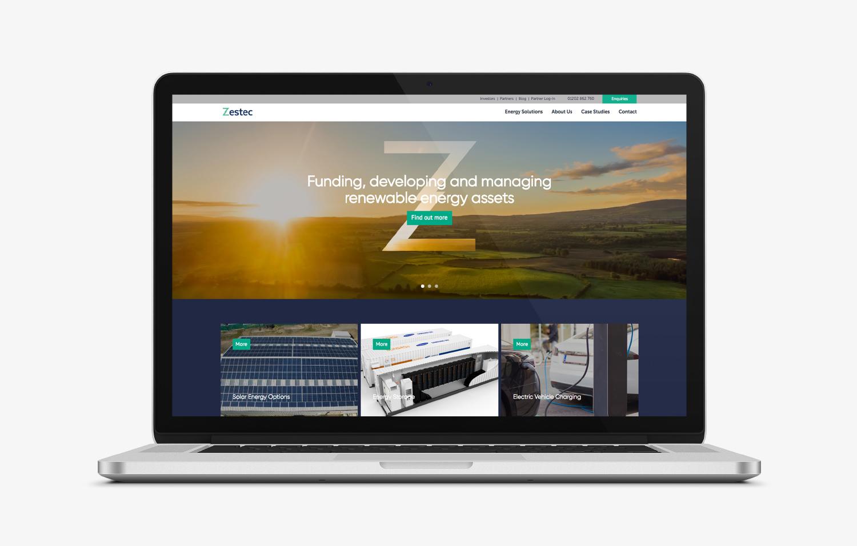 Zestec macbook Website View
