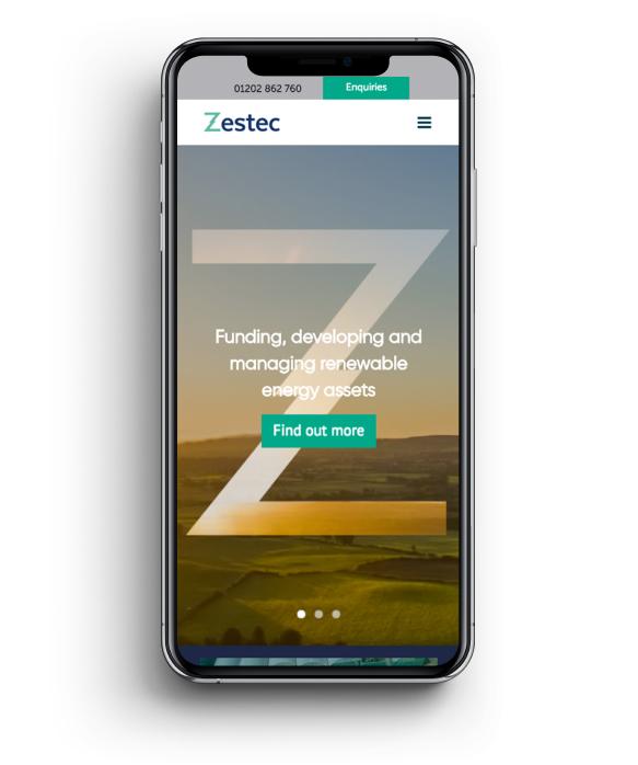 Zestec Mobile View