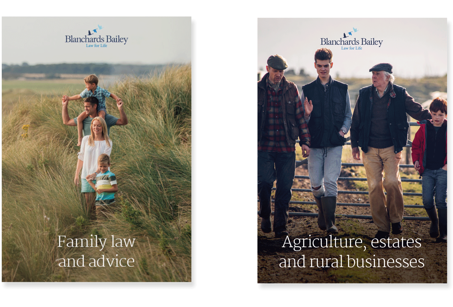 Blanchards Bailey Law leaflets