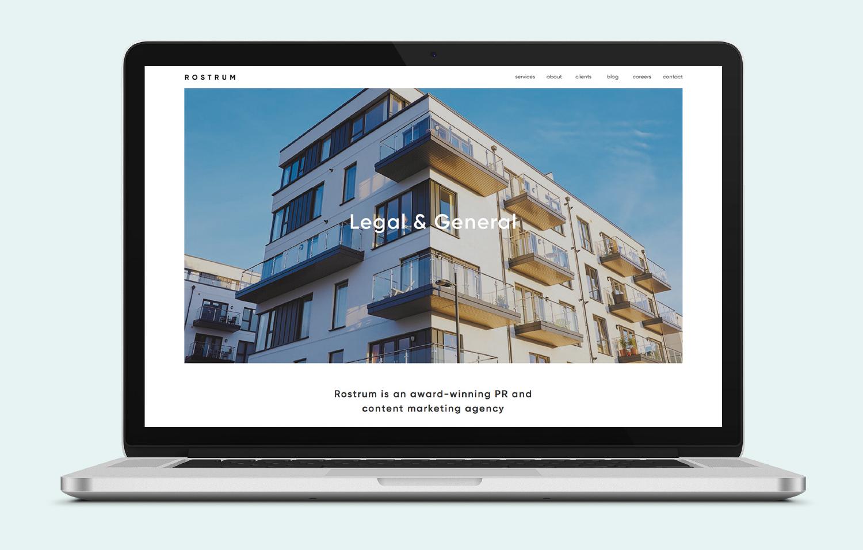 Rostrum Desktop Legal & General View