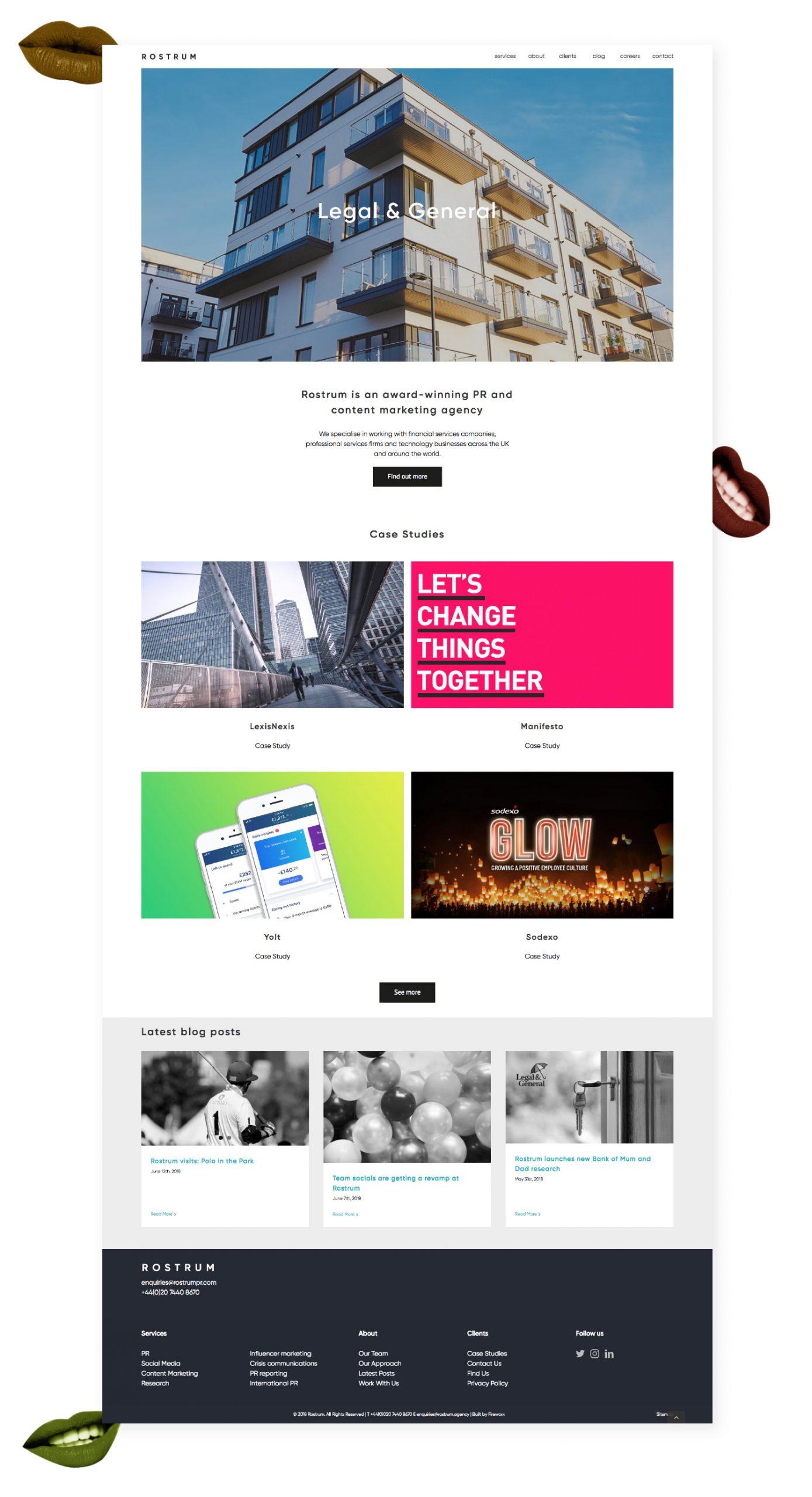 Rostrum Website Design Scaled