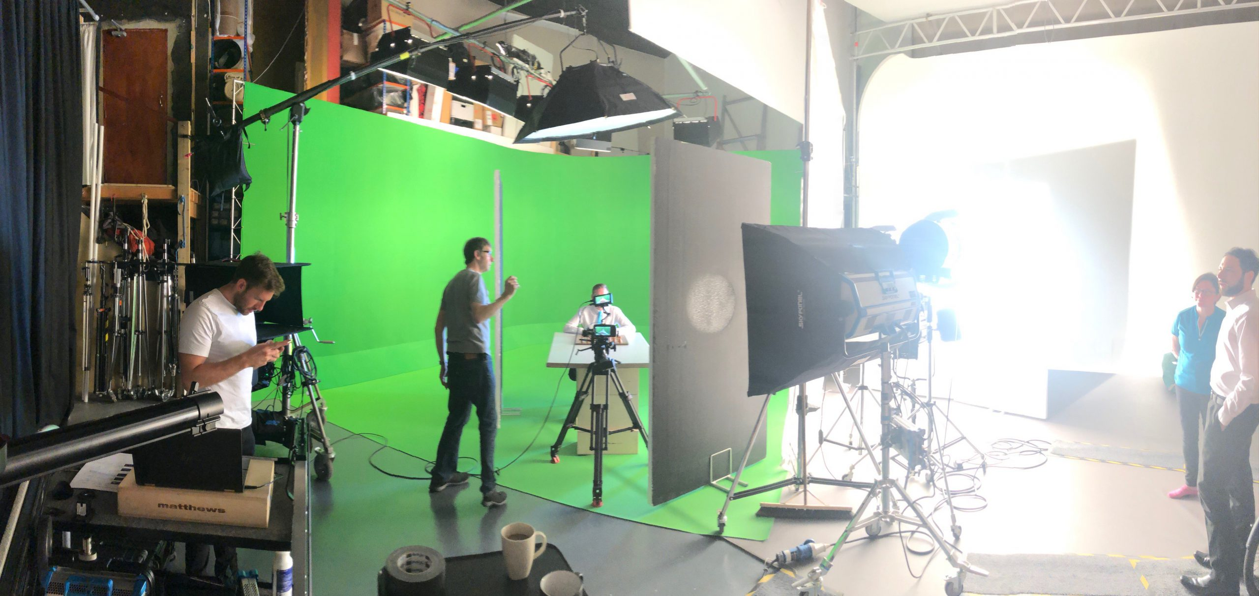 Bistech Filming Computer Image Photography on set