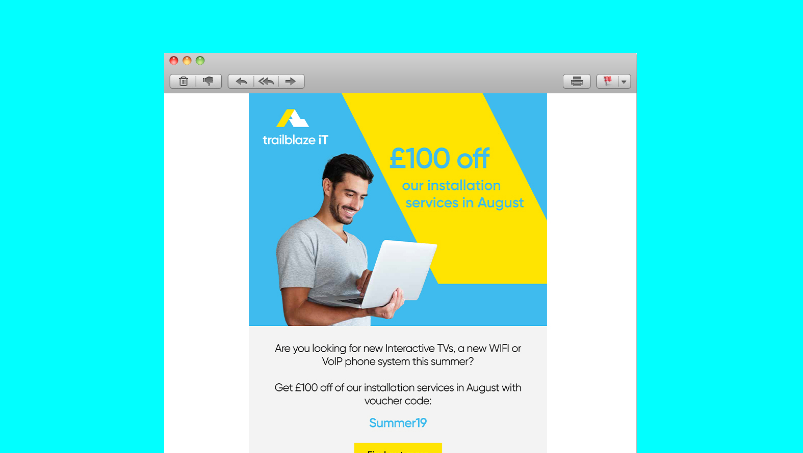 Trailblaze Email Marketing Campaign HTML Version