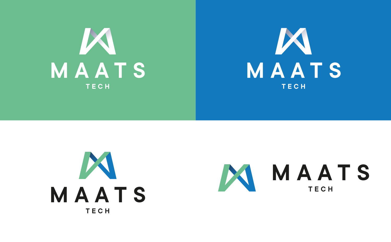 MAATS logo brand developments backgrounds