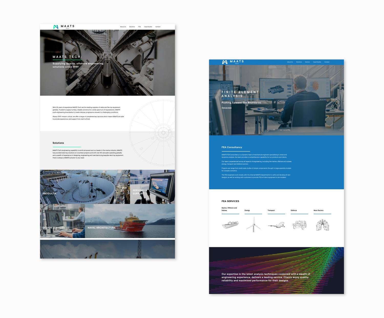 MAATS Website Design