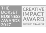 Dorset business award logo black and white 2017